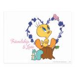 "Tweety ""Friendship And Love"" Postcards"