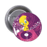"""Tweety """"Hear The Beat"""" Pinback Buttons"""