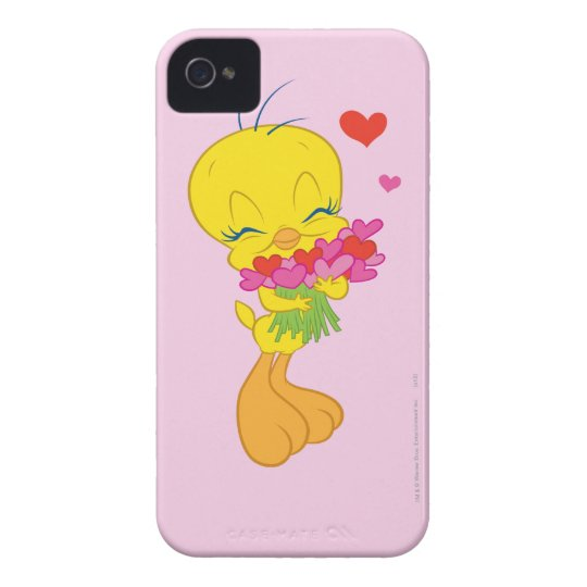 Tweety Hearts iPhone 4 Case-Mate Case