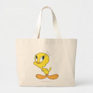 Tweety Hmm Jumbo Tote Bag