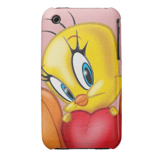 Tweety Holding Heart Case-Mate iPhone 3 Case