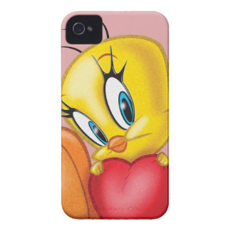 Tweety Holding Heart iPhone 4 Case