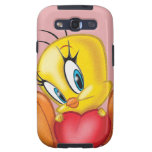 Tweety Holding Heart Samsung Galaxy S3 Cover