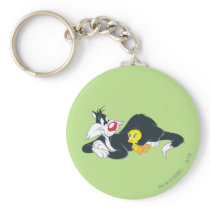 Tweety In Action Pose 14 Keychain