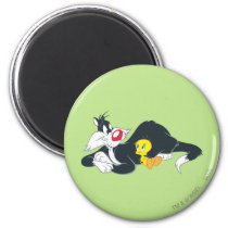 Tweety In Action Pose 14 Magnet