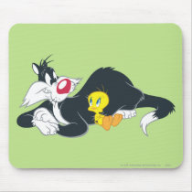 Tweety In Action Pose 14 Mouse Pad