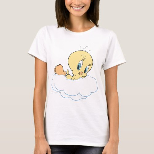 Tweety In The Clouds Pose 3 T_Shirt