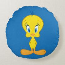 TWEETY™ | Innocent Little Bird Round Pillow