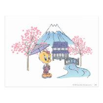 Tweety Japan Postcard