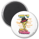 Tweety Like a Rebel 2 Inch Round Magnet