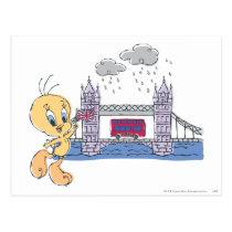 Tweety London Bridge Postcard