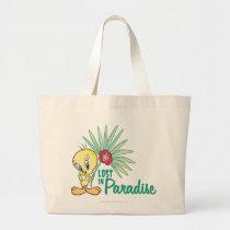 """Tweety """"Lost In Paradise"""" Large Tote Bag"""