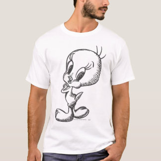 Tweety Lovely Black/White T-Shirt