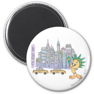 Tweety NYC Imán Redondo 5 Cm