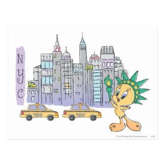 Tweety NYC Tarjetas Postales