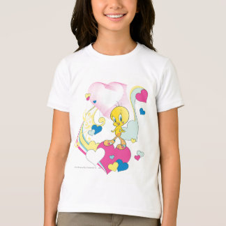 Tweety On Heart T-Shirt