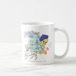 Tweety Paris Classic White Coffee Mug