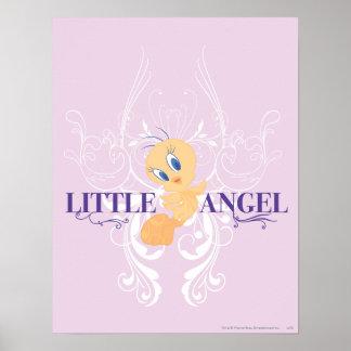 "Tweety ""poco ángel "" póster"