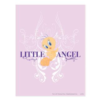 """Tweety """"poco ángel """" tarjetas postales"""