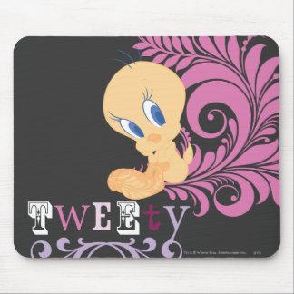 Tweety que sienta 2 mouse pad