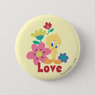 Tweety Red Love Pinback Button