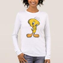 Tweety Shy Long Sleeve T-Shirt