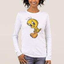 Tweety Sitting Smile Long Sleeve T-Shirt