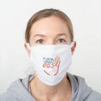 TWEETY™ | Take It Easy White Cotton Face Mask
