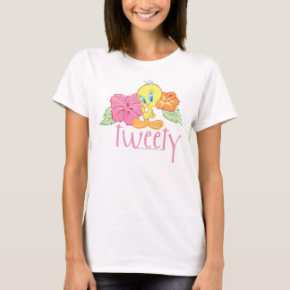 Tweety Tropical Flowers T-Shirt