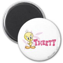 """Tweety """"Tweety"""" Pink Magnet"""