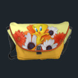 "Tweety With Daisies Courier Bag<br><div class=""desc"">Tweety With Daisies</div>"