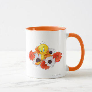 Tweety With Daisies Mug