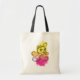 Tweety With Hearts Budget Tote Bag