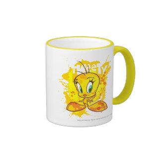 Tweety with Name Ringer Coffee Mug