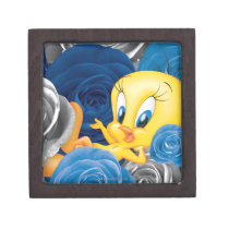 Tweety With Roses Gift Box
