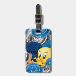 Tweety With Roses Tag For Luggage