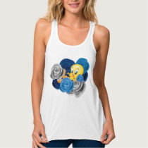 Tweety With Roses Tank Top