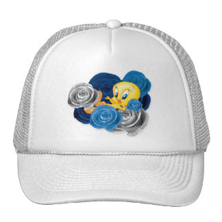 Tweety With Roses Trucker Hat