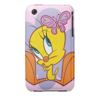 Tweety y mariposa iPhone 3 funda