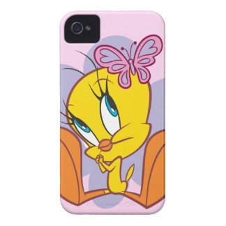 Tweety y mariposa iPhone 4 cobertura