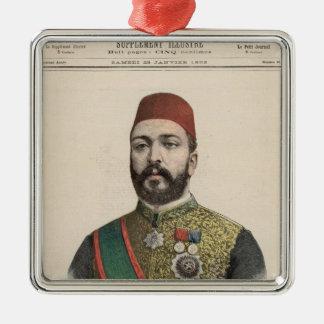 Twefik Pasha  Khedive of Egypt Metal Ornament
