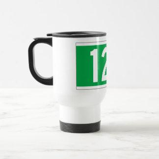 Twelfth Av., New York Street Sign Travel Mug