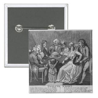 Twelfth Night, 1794 Button