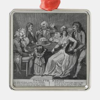 Twelfth Night, 1794 Metal Ornament