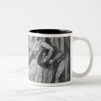 Twelfth Night, 1794 Two-Tone Coffee Mug