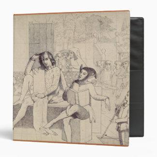 Twelfth Night, c.1850 3 Ring Binder