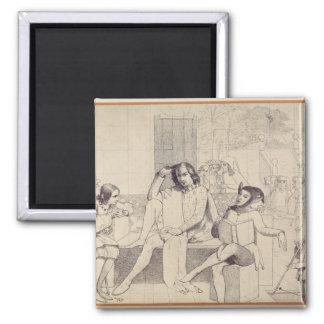 Twelfth Night, c.1850 Magnet
