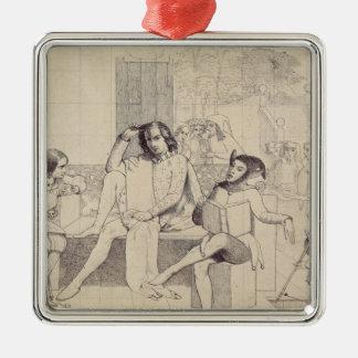 Twelfth Night, c.1850 Christmas Ornaments