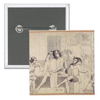 Twelfth Night, c.1850 Pinback Button