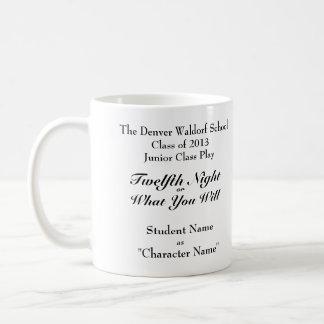 Twelfth Night Commemorative Mug